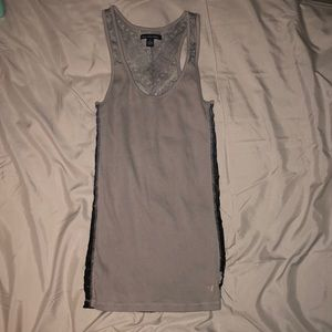 American Eagle Outfitters Grey Ombré Tank Top, Sm.